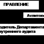 Учебная работа. Организация службы внутреннего аудита № 1824